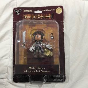 Mickey Mouse Figure - Captain Jack Sparrow